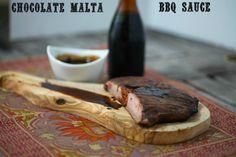 Chocolate Malta BBQ Sauce