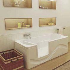 Walk-in tub from Oceania