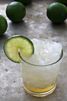 Lime Bar Cocktail with Vodka, Lime Juice, & Cream Soda