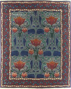 Arts & Crafts Series - The McMurdoch PC38B rug @ Modern Bungalow
