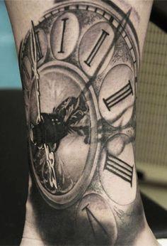 Tattoo Artist - Andy Engel - time tattoo