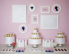 Cute dessert table