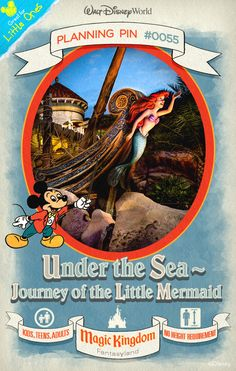 Walt Disney World Planning Pins: Relive the tale of how one lucky little mermaid found true love—and legs!