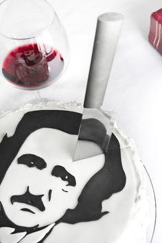 Red Velvet Poe cake!