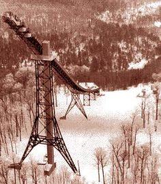 Copper Peak Ski Flying Hill - Bessemer, MI.