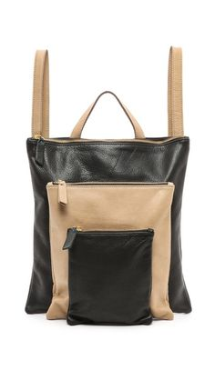 CAMPOS Triple Zip Backpack