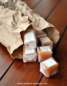 How to: Caramel Wrapped Marshmallows...yum!