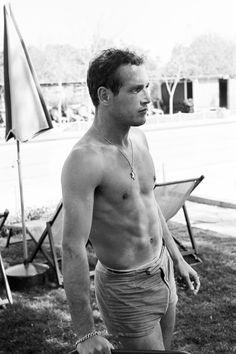Paul Newman by Leo Fuchs