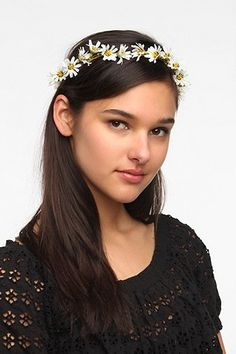 Gardenhead Daisy Halo Headwrap
