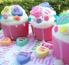 Yummy PINK SUGAR CUPCAKES Wax Tart Melts by theclackhouse
