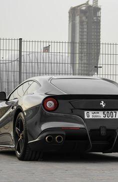 Charcoal Ferrari