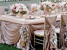 Champagne wedding ideas