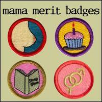 honor parent, merit badg, a frame, happi heart
