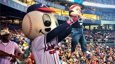 Atlanta Braves' 'Simba cam' is an adorable spin on the 'kiss cam'
