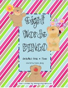 This Bingo game is ideal for whole class, small group, or independent work. It includes 5 bingo cards and 39 sight words. Please leave me s...