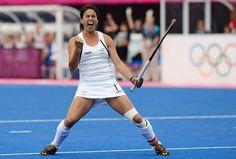 TK's Kayla Sharland from New Zealand just scored in the Olympics 2012 in London. #TKHockey #sport #fieldhockey
