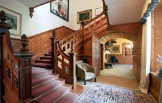 Erchless Castle - - love the staircase