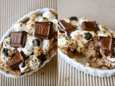 S'mores Oatmeal