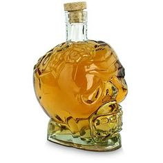 Zombie Head Decanter - Fill it with your favorite brain cell killing party drinks