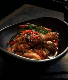 Kylie Kwong's Braised Chicken Drumsticks with Black Bean and Chilli, from her latest book Simple Chinese Cooking Class. Picture: Earl Carter Photography