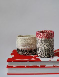 DIY Decor Trend: Coiled Bowls, Vases, Baskets