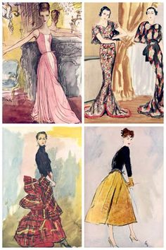 Old Vogue sketches