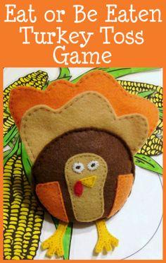 Eat or Be Eaten Turkey Toss Game
