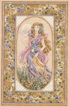 cross stitch - Day by Teresa Wentzler