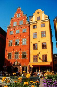 Historical buildings on Stortorget, Stockholm