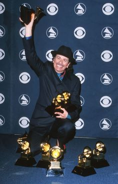 Santana won eight awards at the 42nd GRAMMYs in 2000, tying Michael Jackson's record and marking the first time a group or duo won six or more GRAMMYs in one night