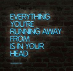 ... is in your head.