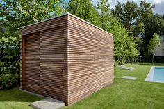 Tuinhuizen on pinterest pergola carport modern shed and tuin - Moderne buiteninrichting ...