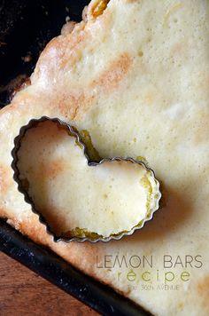 Lemon Bars made with Cake Mix.