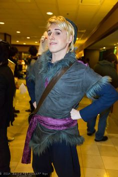 Kristoff from Frozen | Anime Los Angeles 2014 #cosplay