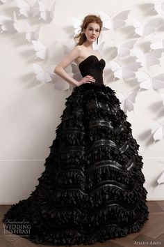 Google Image Result for http://www.weddinginspirasi.com/wp-content/uploads/2012/09/atelier-aimee-2013-black-strapless-wedding-dress-ball-gown.jpg