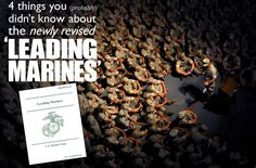 4 Things You (Probably) Didn't Know About the Newly Revised 'Leading Marines' | Marines Blog