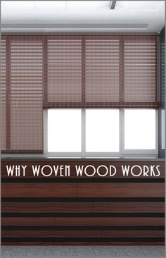 Why Woven Wood Works- cute woven wood ideas