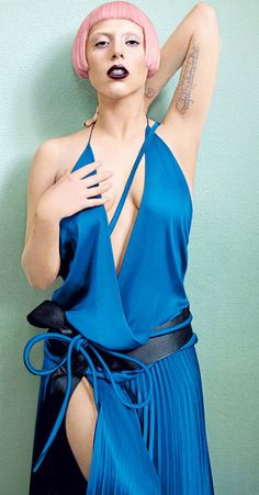 Gaga. Vogue March 2011