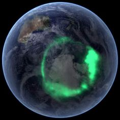 Aurora Australis from Space | (10 Beautiful Photos)