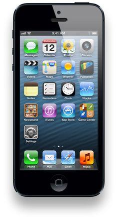Apple iPhone 5, black, 64gb $399.