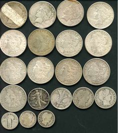 Metal Detecting Finds Old US Coins   Metal Detecting Lessons