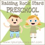 Christian preschool program with various types of printables by @Carisa