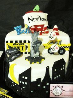 cake design new york on Pinterest  Themed Cakes, Travel Themed ...