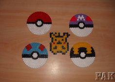 Pokemon Hama Beads.