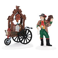 Cuckoo Clock Vendor & Cart 2001 - 2004