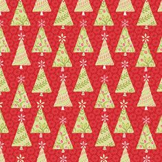 Amanda Murphy - Holiday Bouquet - Holiday Trees in Red