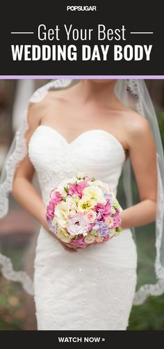 Full-body 10-minute workout perfect for brides-to-be looking to shed a few pounds before walking down the aisle.