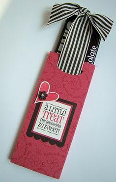 Cute candy bar Treat bag/slider.