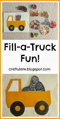 Craftulate: Fill-a-Truck Fun!