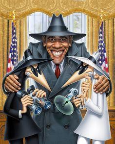 MARK FREDRICKSON - Obama's Spies